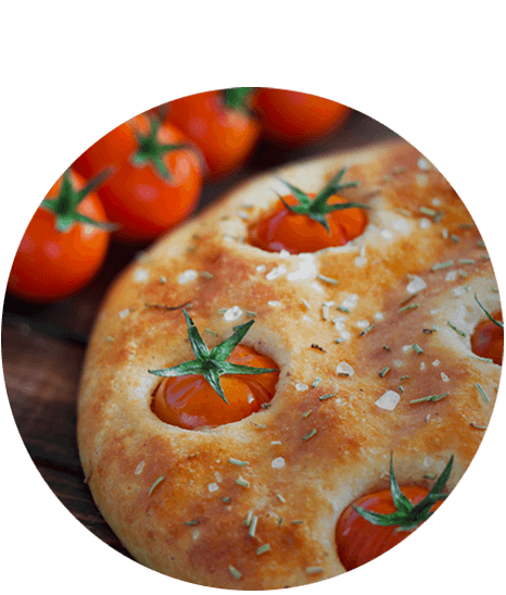 piatto pizza focaccia