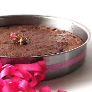 foto Fondant al cioccolato e lamponi