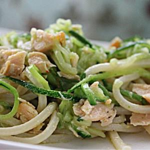 foto Pasta salmone e zucchine