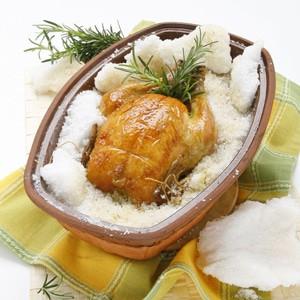 foto Pollo al sale